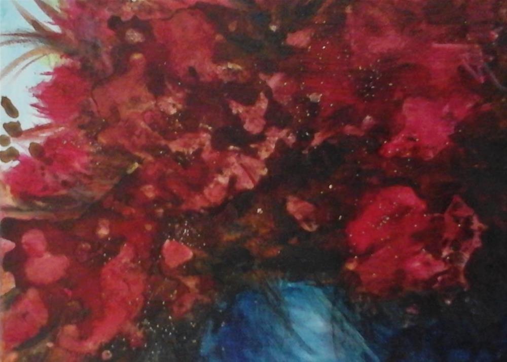 """Azalea Profusion"" original fine art by Sue Lorenz"