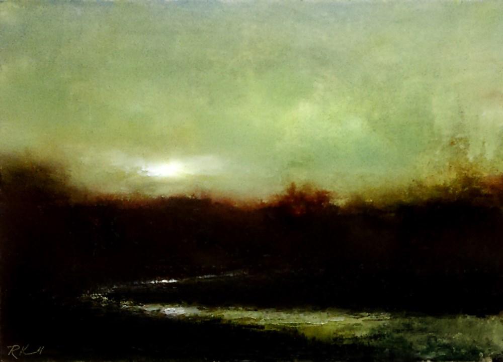 """Overcast"" original fine art by Bob Kimball"