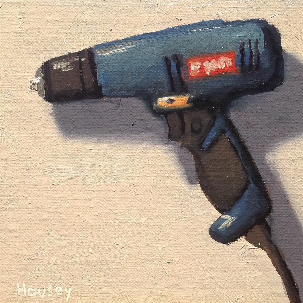 """Drill"" original fine art by Bruce Housey"