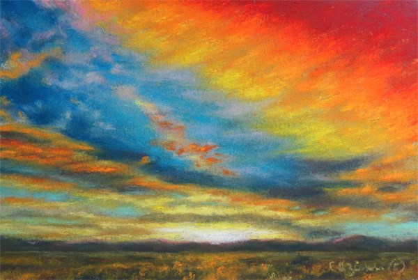 """Sizzle"" original fine art by Carol Zirkle"
