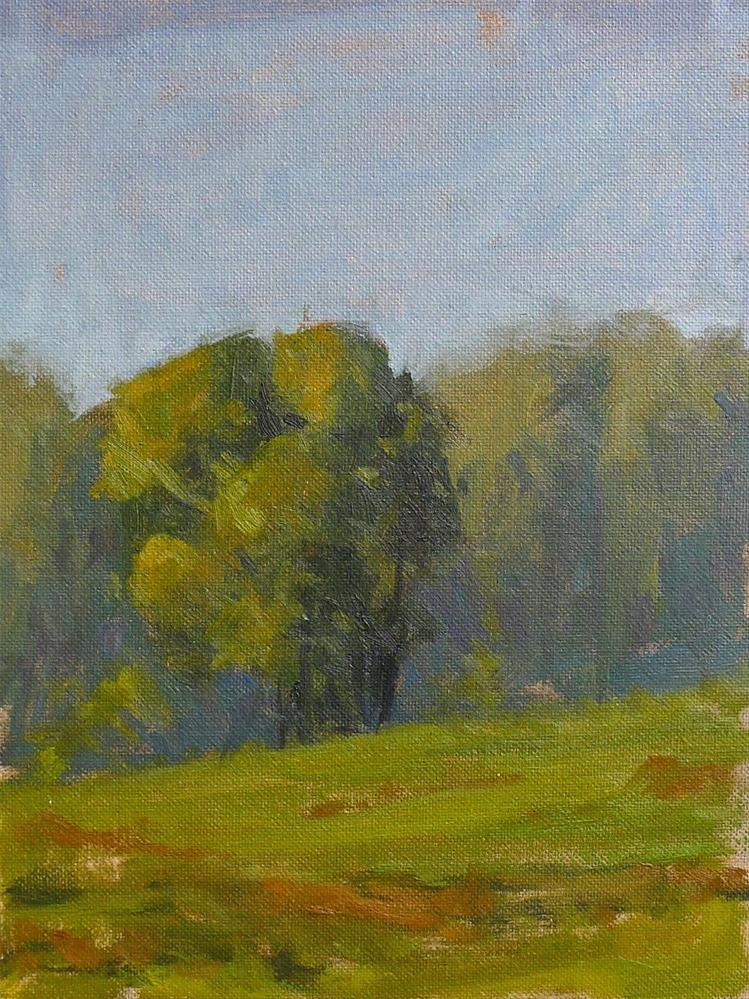 """Chattanooga Valley Field"" original fine art by Adam Houston"