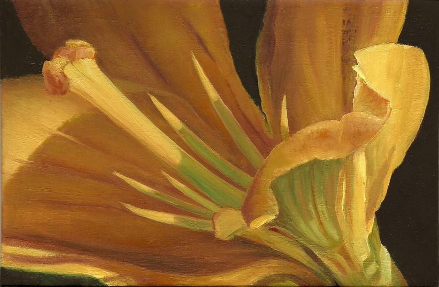 """Seeking the Light"" original fine art by Carol L Adamec"