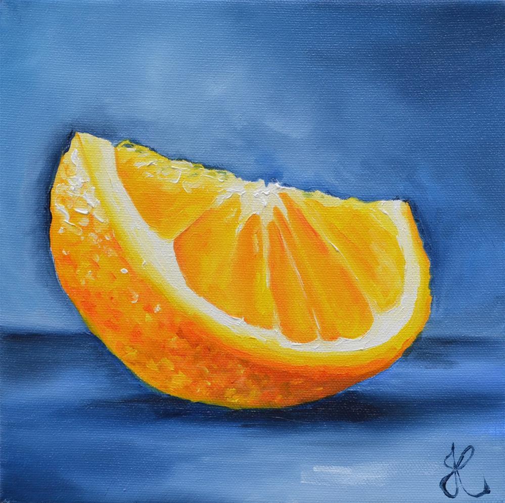 """""""Orange"""" original fine art by Jacinthe Rivard"""