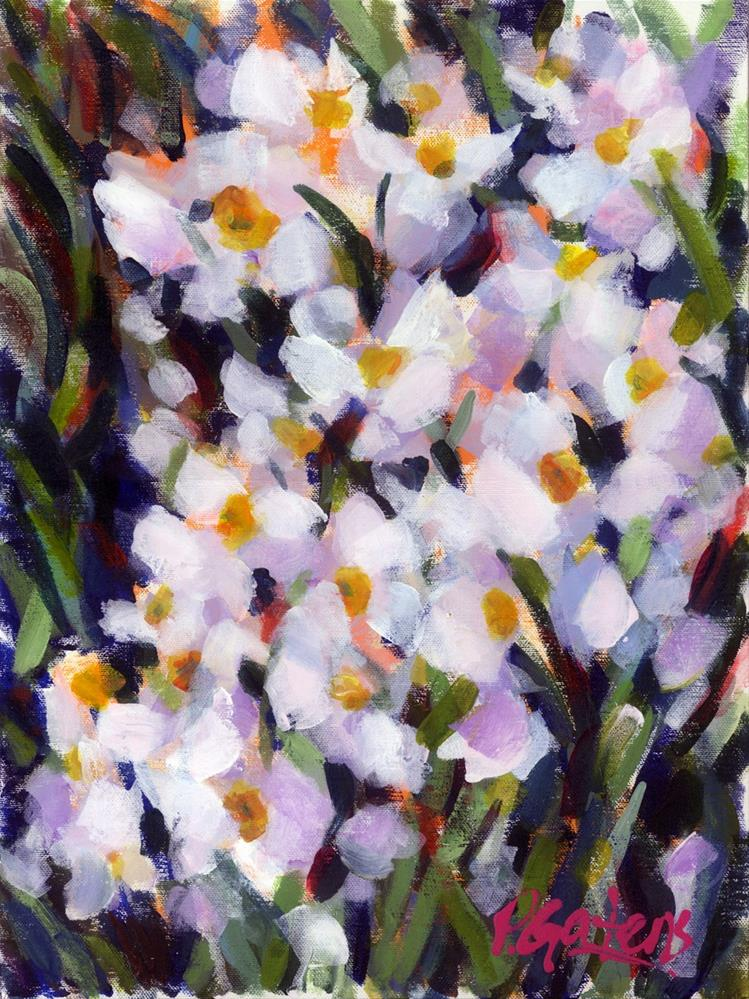 """Deep in Daffodils"" original fine art by Pamela Gatens"