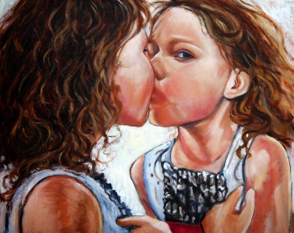"""The mirror image"" original fine art by Hilary J. England"