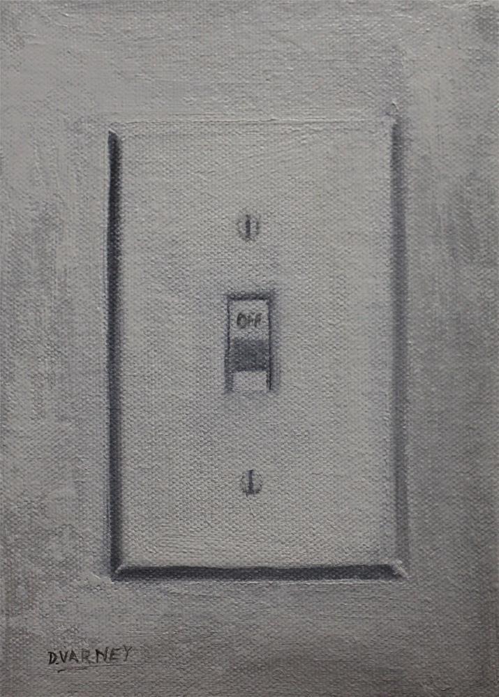 """OFF"" original fine art by Daniel Varney"