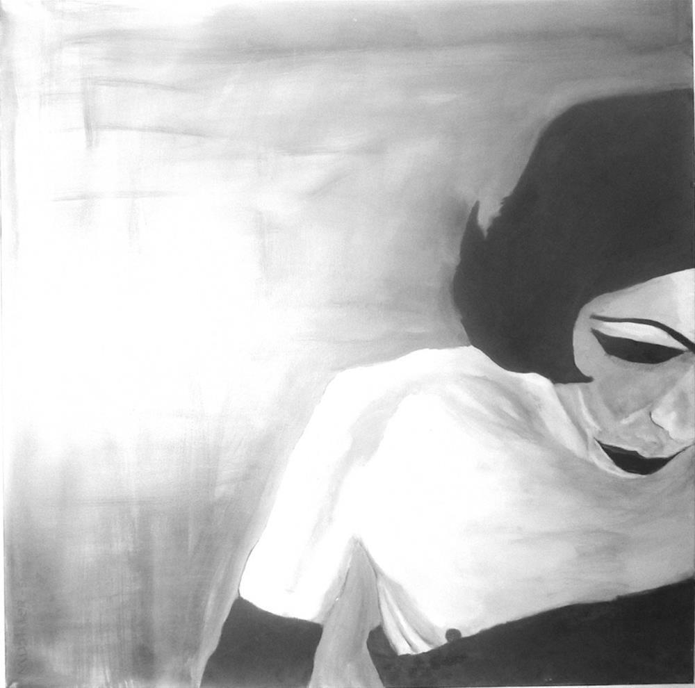 """""""Transvestit"""" original fine art by Mila Plaickner"""