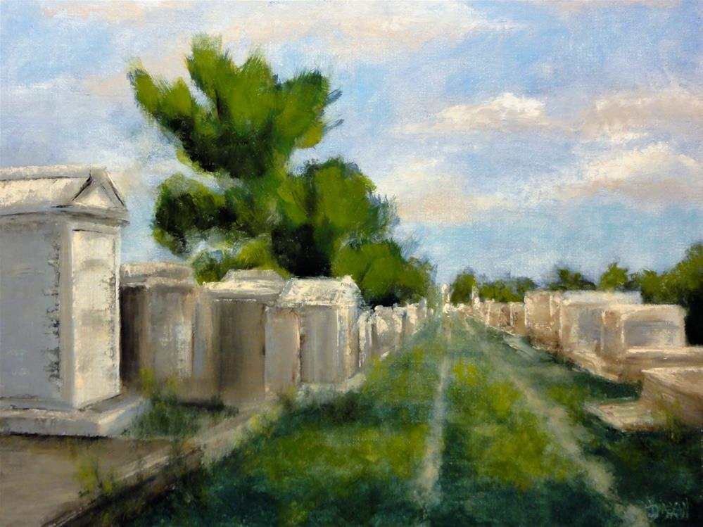 """A Grave Path"" original fine art by Dalan Wells"
