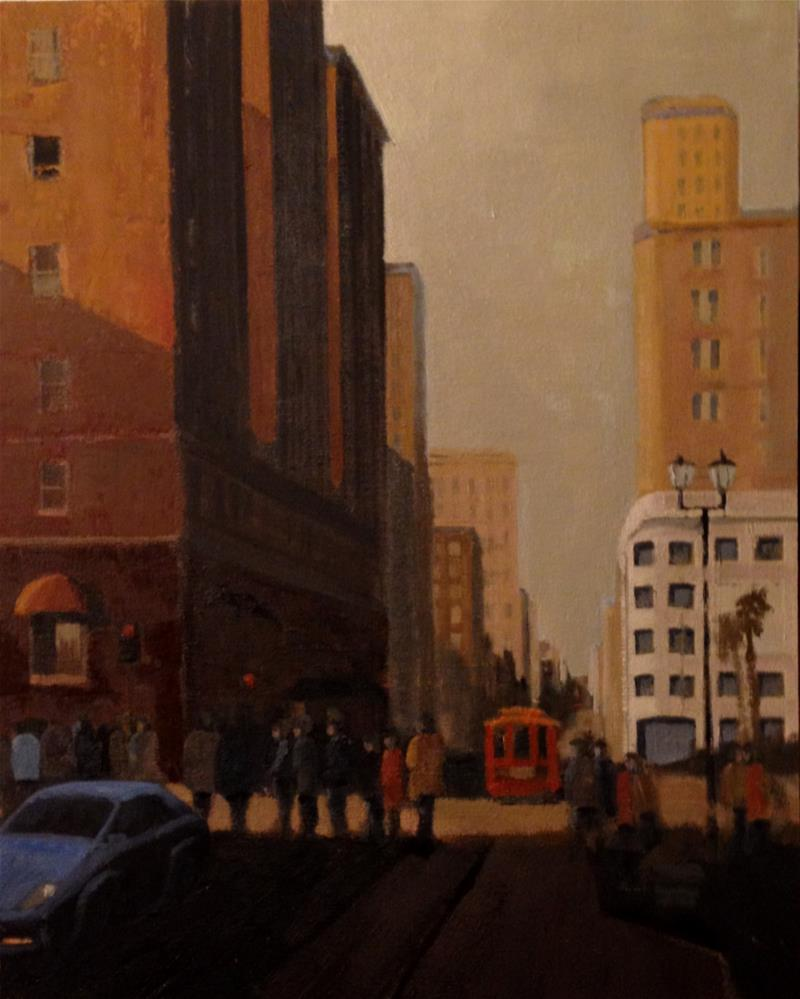 """Union Square"" original fine art by Jim Leland"