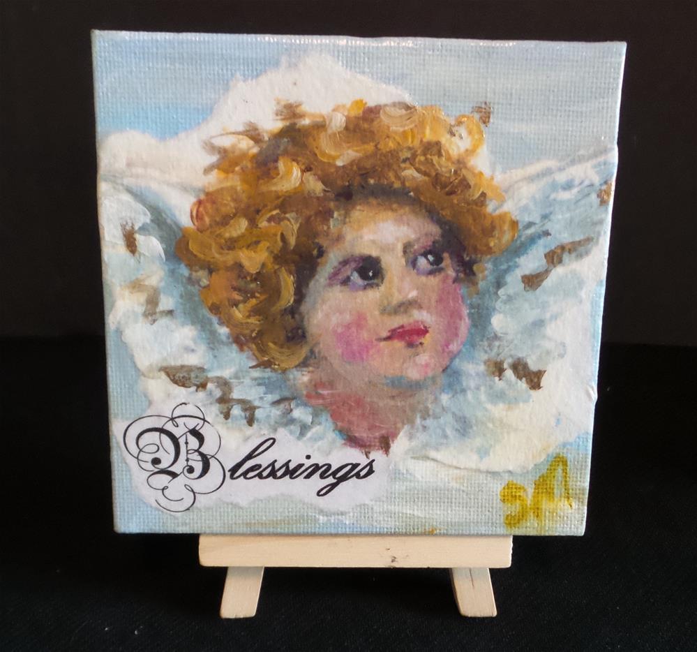 """Blessings"" original fine art by Susie Monzingo"