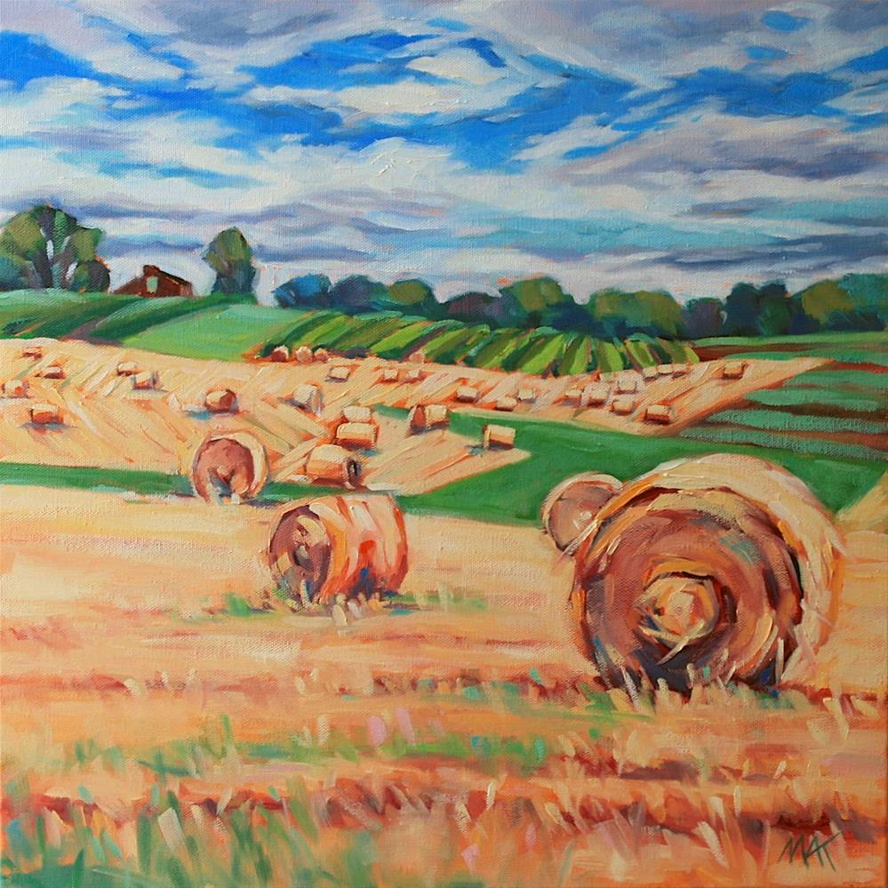 """Farm Country"" original fine art by Mary Anne Cary"
