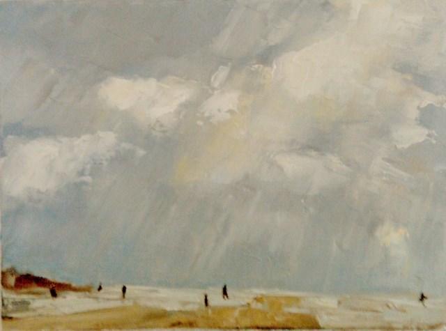 """Clouds"" original fine art by Astrid Buchhammer"
