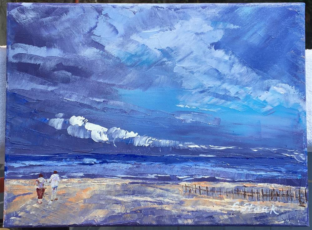 """""""The Cove"""" original fine art by Elizabeth Ann Stark"""