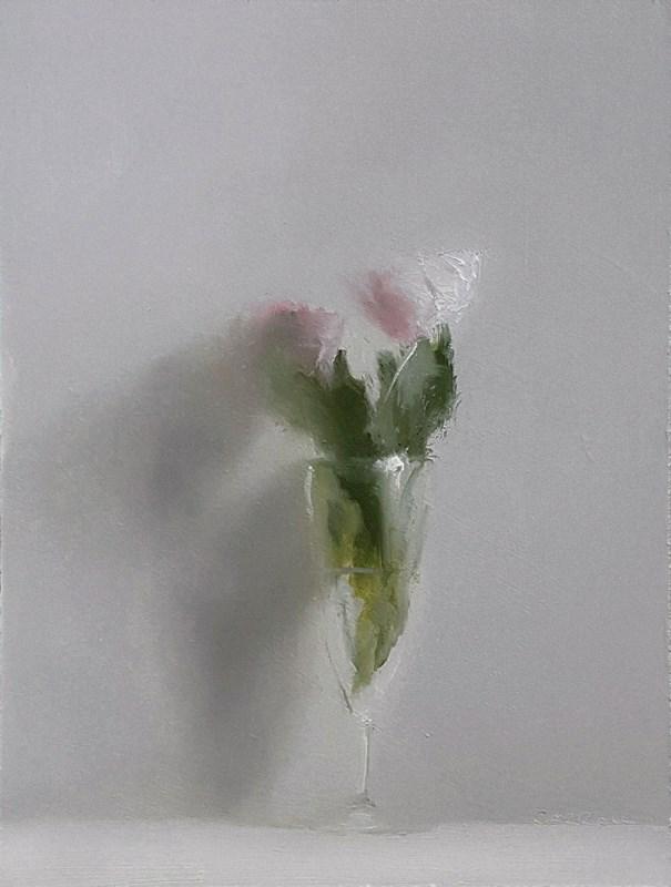 """Flute of Roses"" original fine art by Neil Carroll"