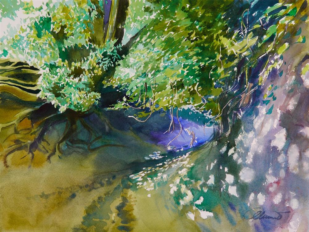 """ravine_2"" original fine art by Beata Musial-Tomaszewska"