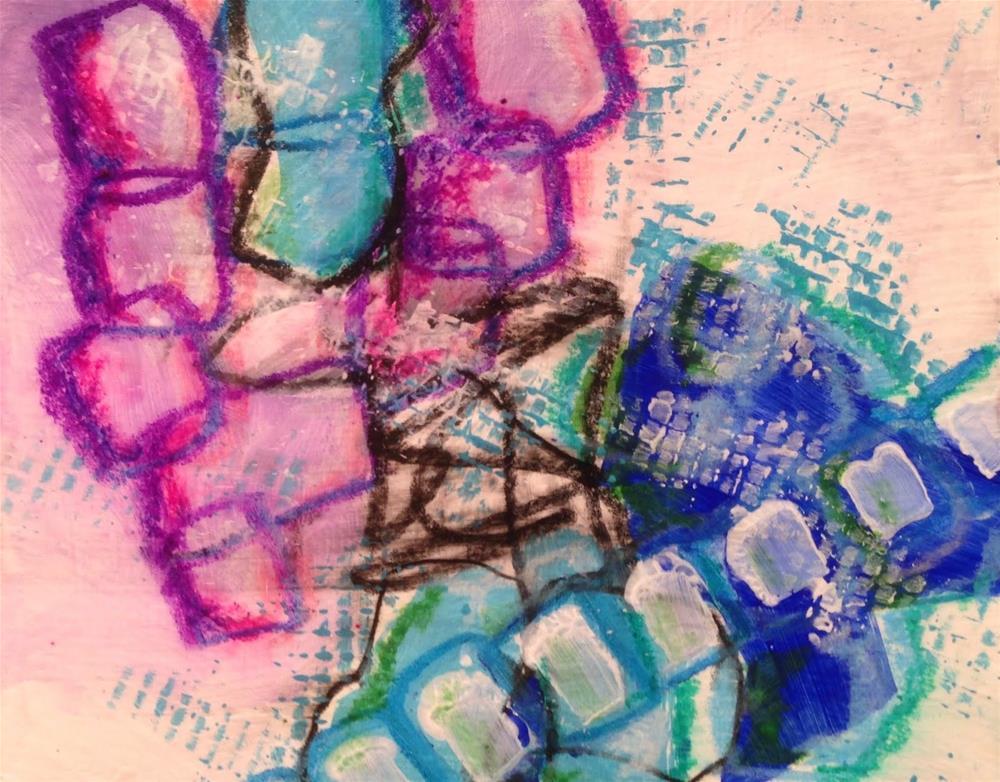 """""""Five Minutes?"""" original fine art by Dotty  Seiter"""