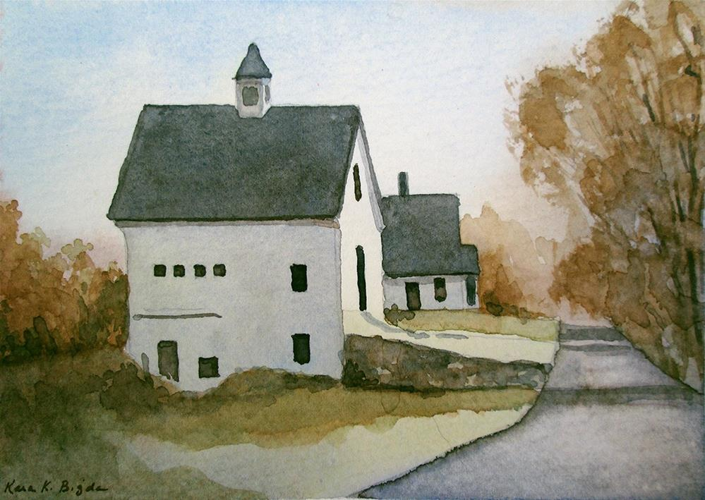 """Wheeler Farm"" original fine art by Kara K. Bigda"