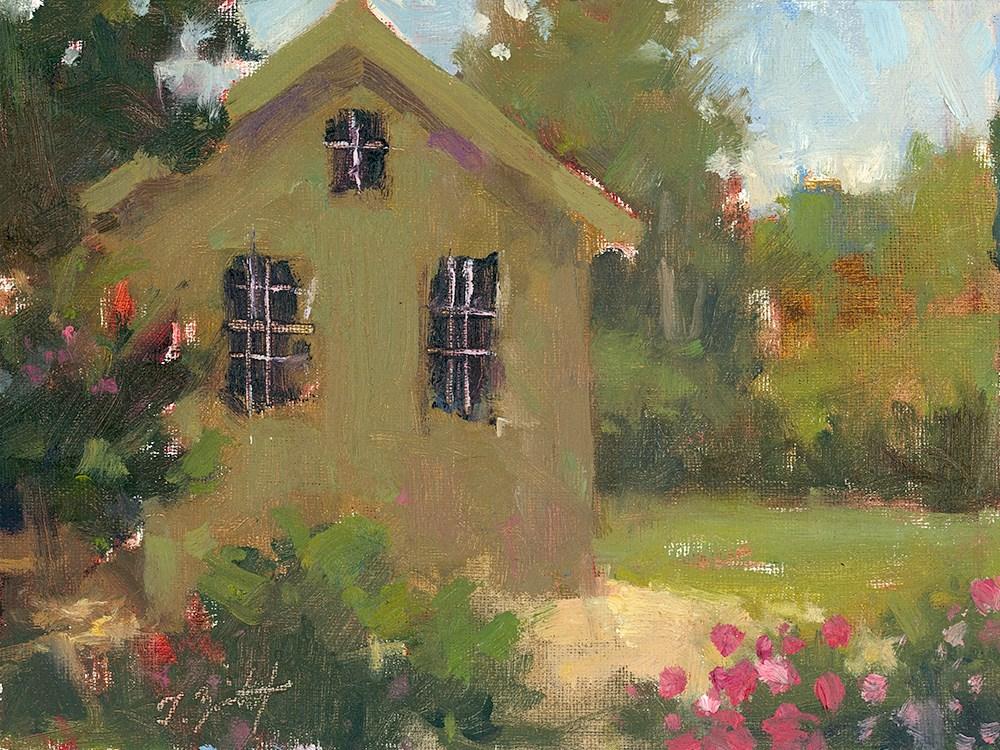 """""""Garden Greens"""" original fine art by Todd Zuithof"""