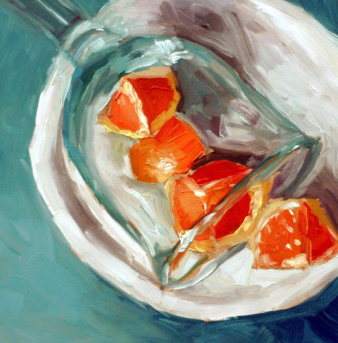"""""""Back in the Swing"""" original fine art by Kristen Dukat"""