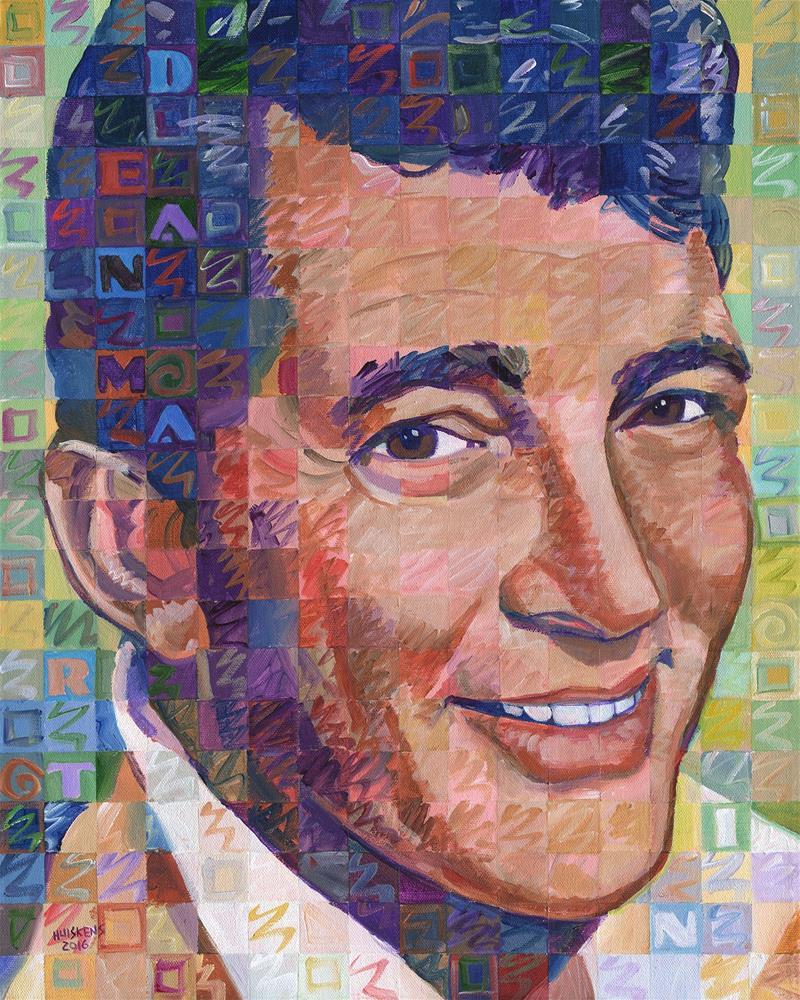 """Dean Martin #2"" original fine art by Randal Huiskens"