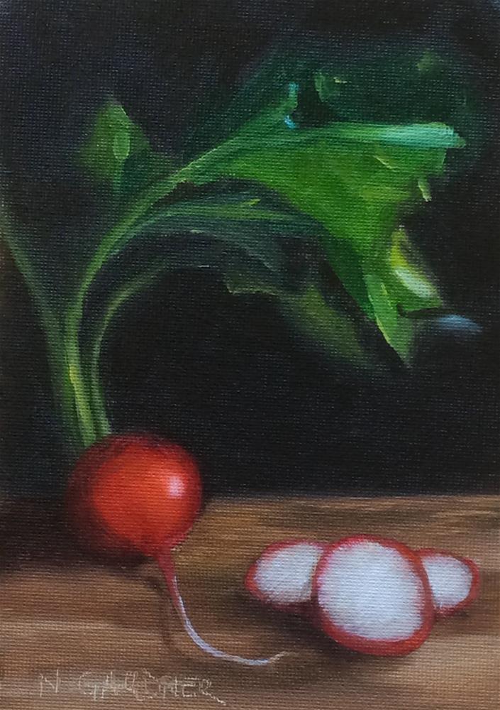"""""""In the Mood"""" original fine art by Nikki Gardner"""