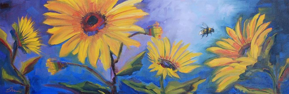 """""""Floral Fantasy"""" original fine art by Shawn Deitch"""