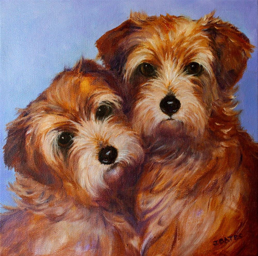 """The McKenzies"" original fine art by Jill Bates"
