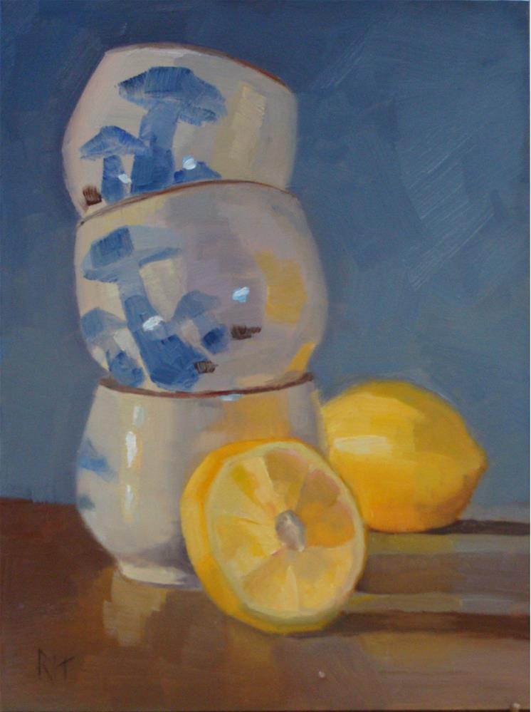 """Twist and Shout"" original fine art by Rebecca Helton"