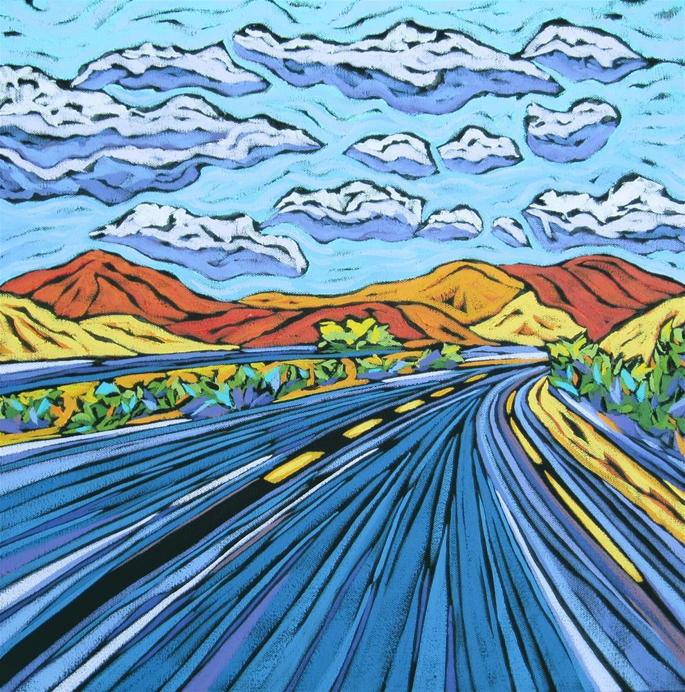 """Road Trip #2"" original fine art by Monique Straub"
