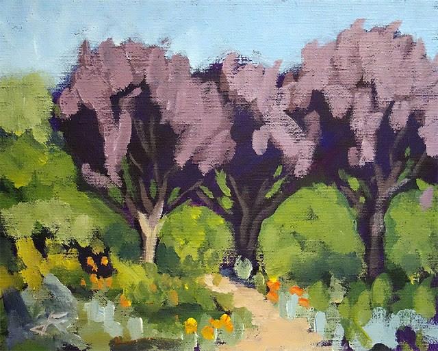 """Rusty Three"" original fine art by J. Farnsworth"