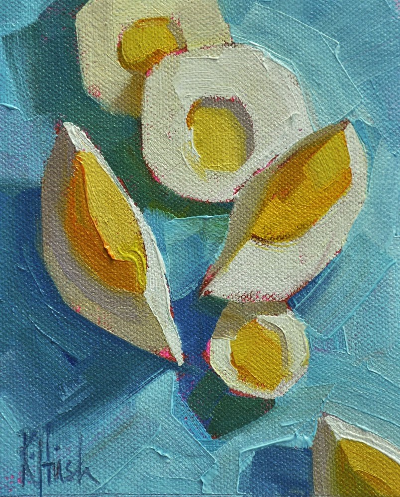 """Afloat"" original fine art by kathy hirsh"