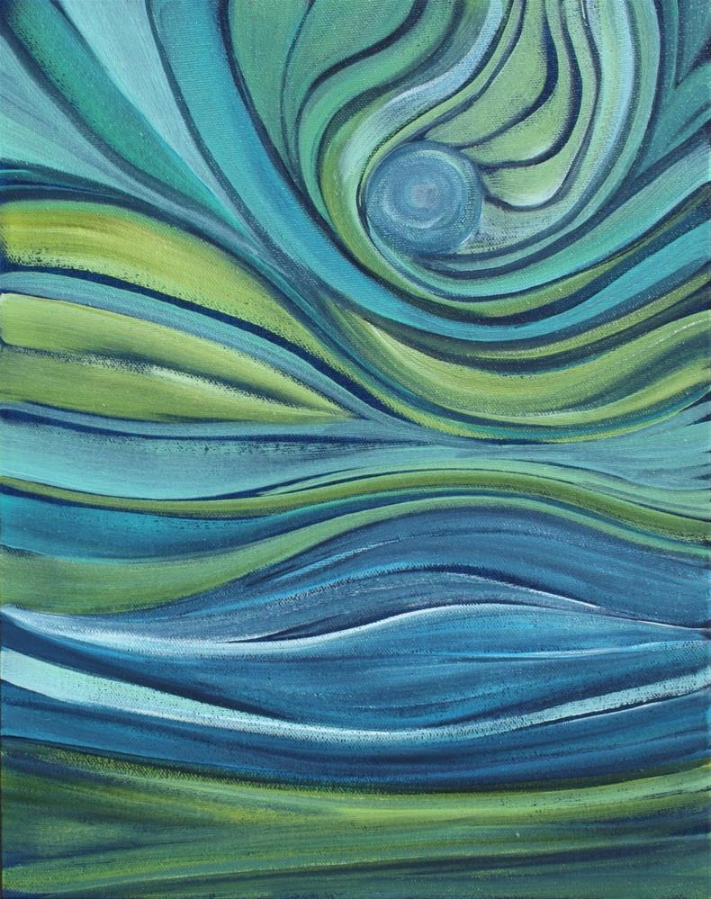 """Eye of the Storm"" original fine art by Sage Mountain"