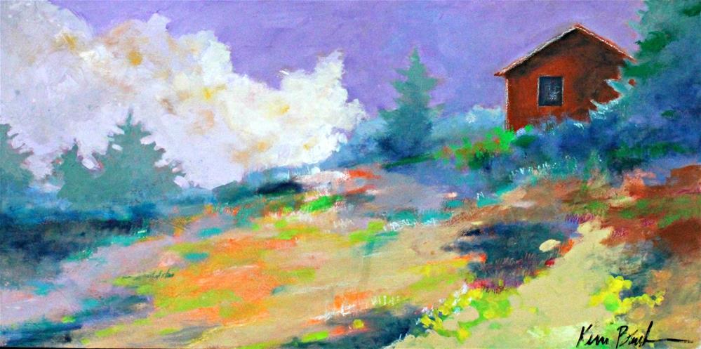 """Afternoon Peace "" original fine art by Kerri Blackman"