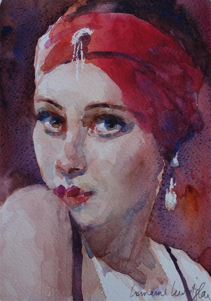 """Flapper"" original fine art by Lorraine Lewitzka"