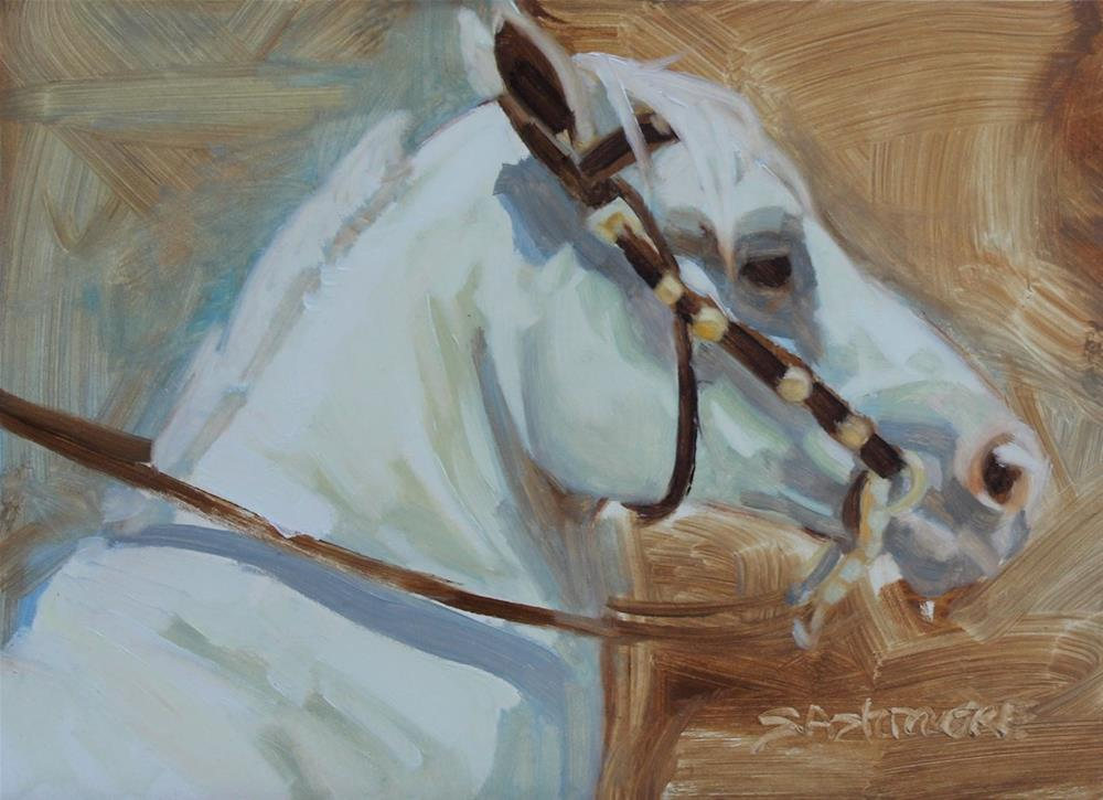 """Astro"" original fine art by Susan Ashmore"