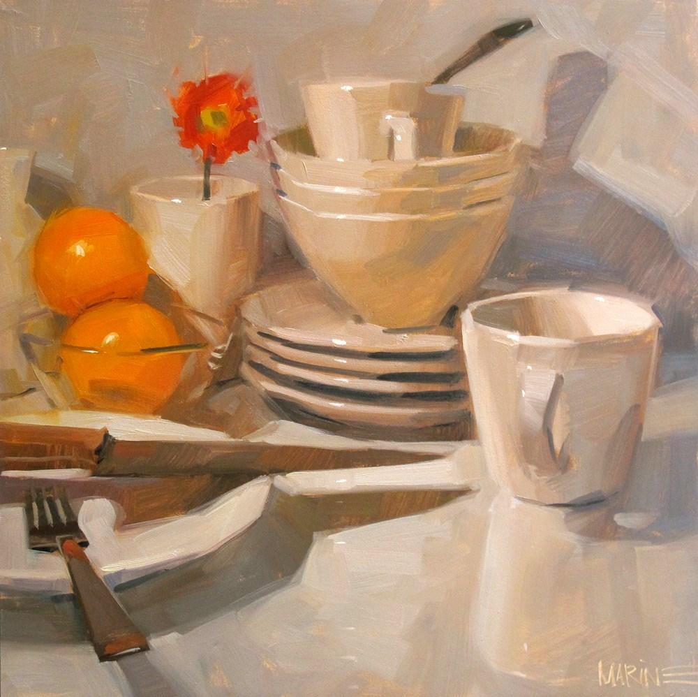 """""""Morning Light"""" original fine art by Carol Marine"""