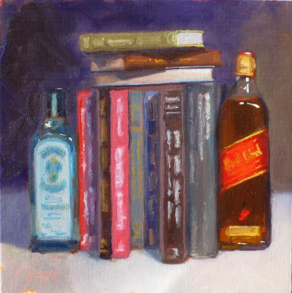 """bookends"" original fine art by Dan Graziano"