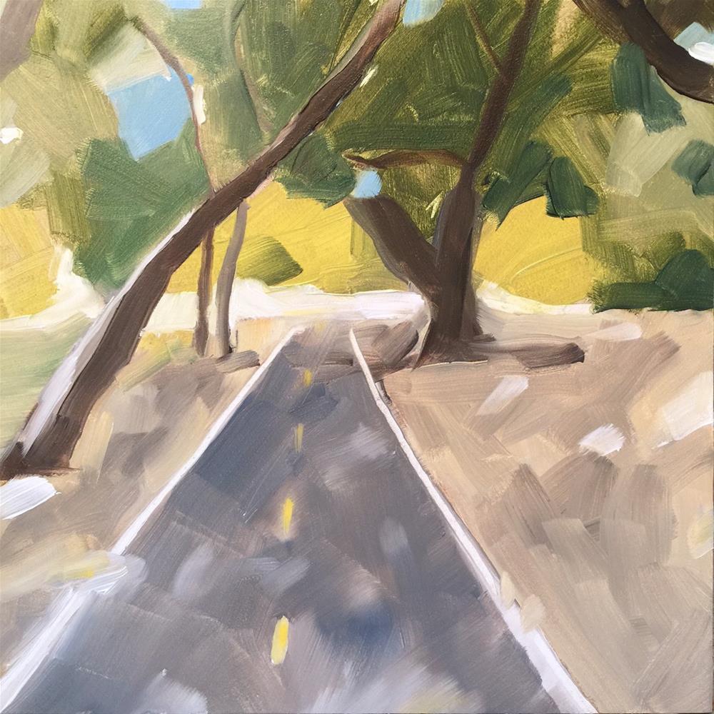 """231 Park Santiago"" original fine art by Jenny Doh"