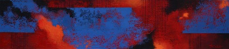 """Sun and Sky"" original fine art by Nancy Eckels"