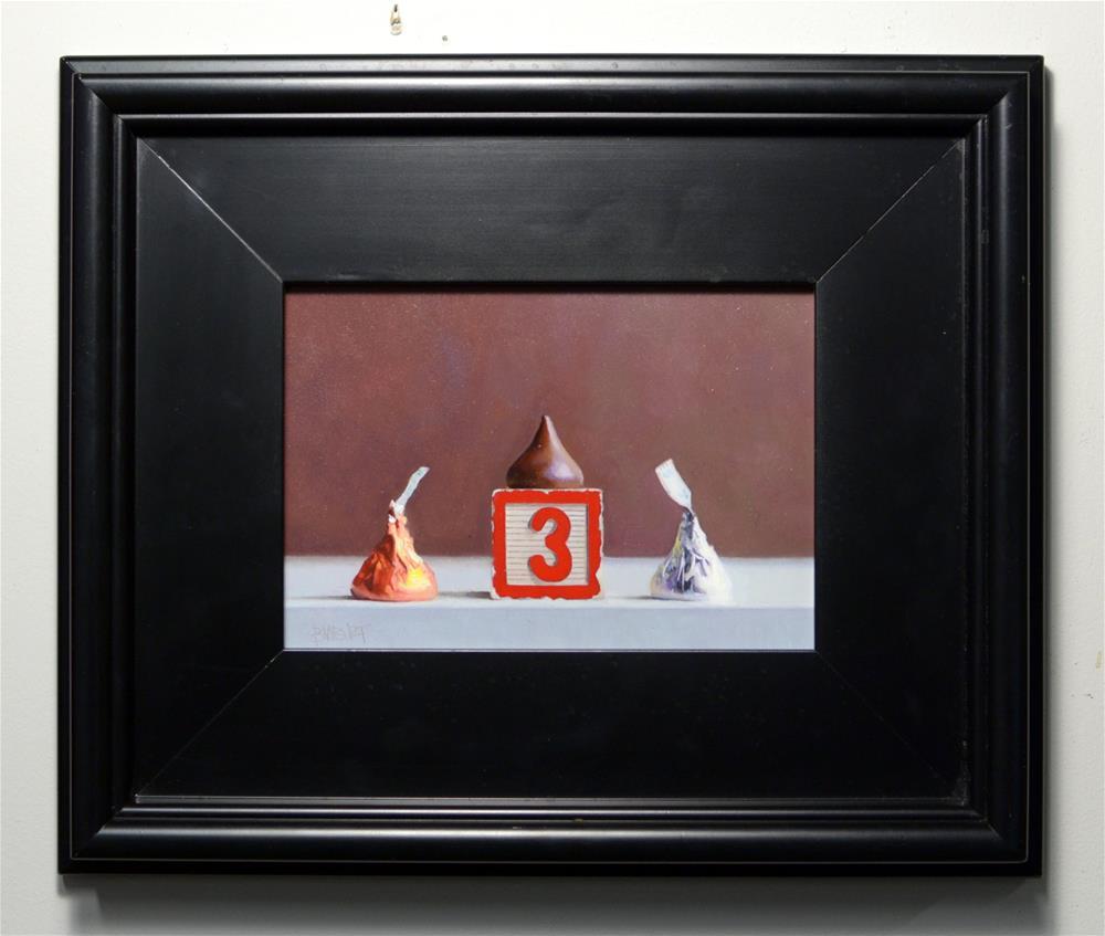 """Seulement Trois Baisers"" original fine art by Brian Burt"