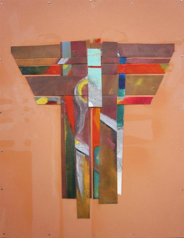 """Kimono 3"" original fine art by Carol Wiley"