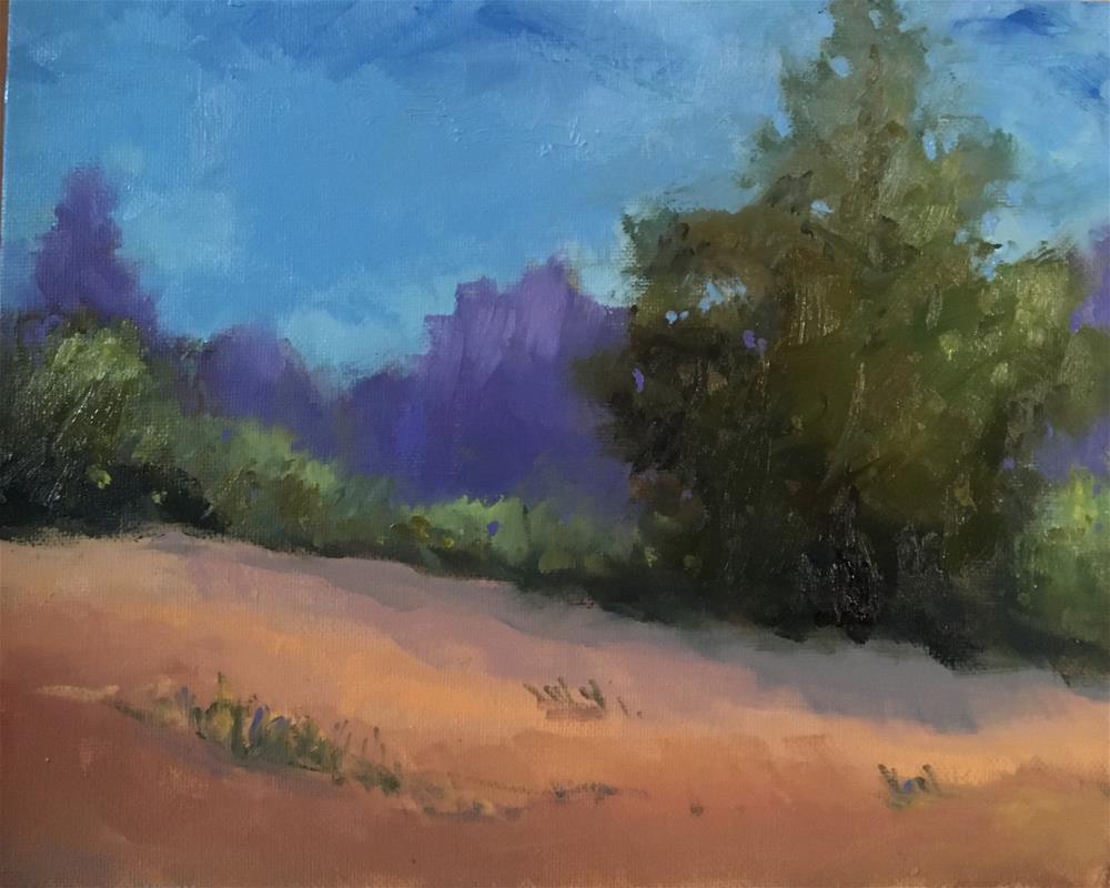 """Summer  Field"" original fine art by Victoria  Biedron"