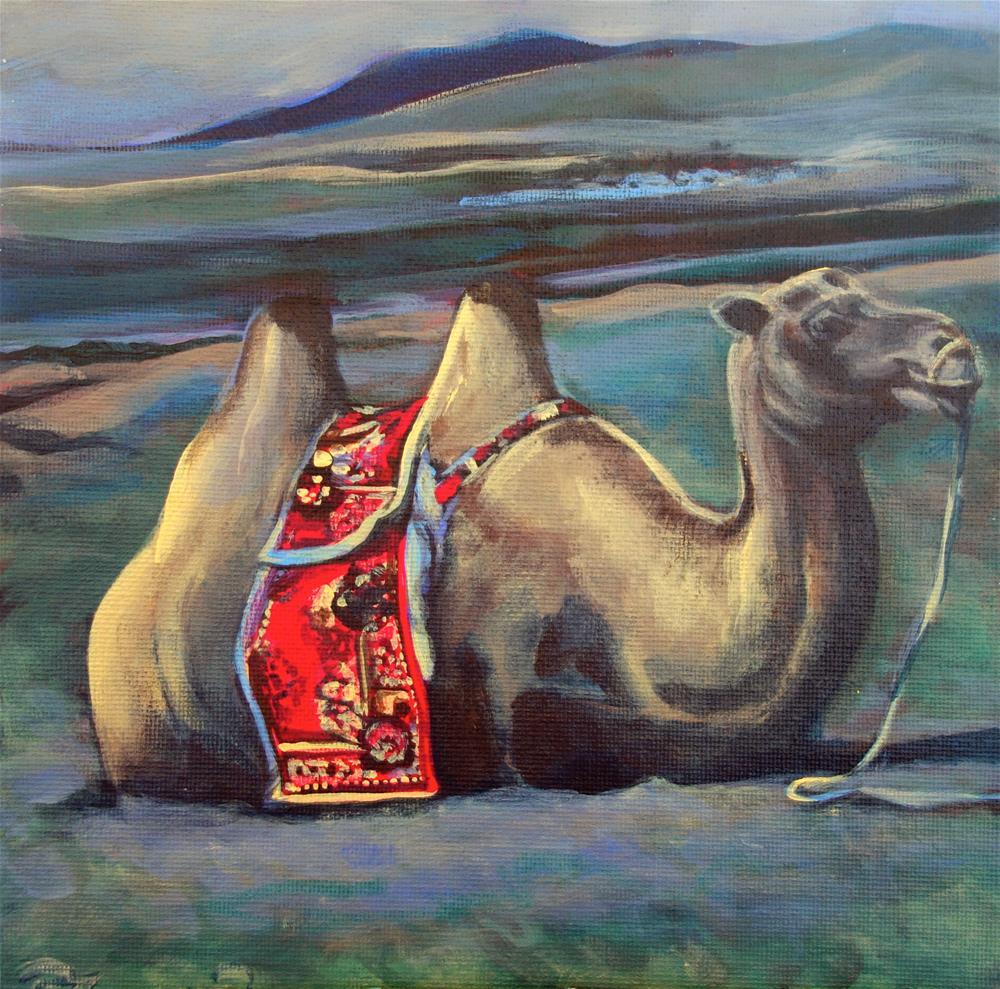 """Untitled"" original fine art by Rachel Thompson"