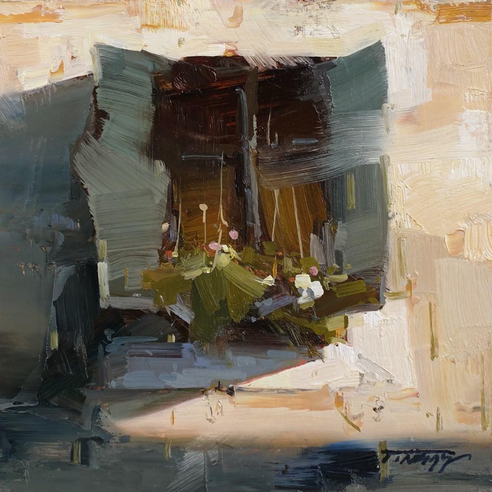 """A Little Treasure"" original fine art by Tibor Nagy"