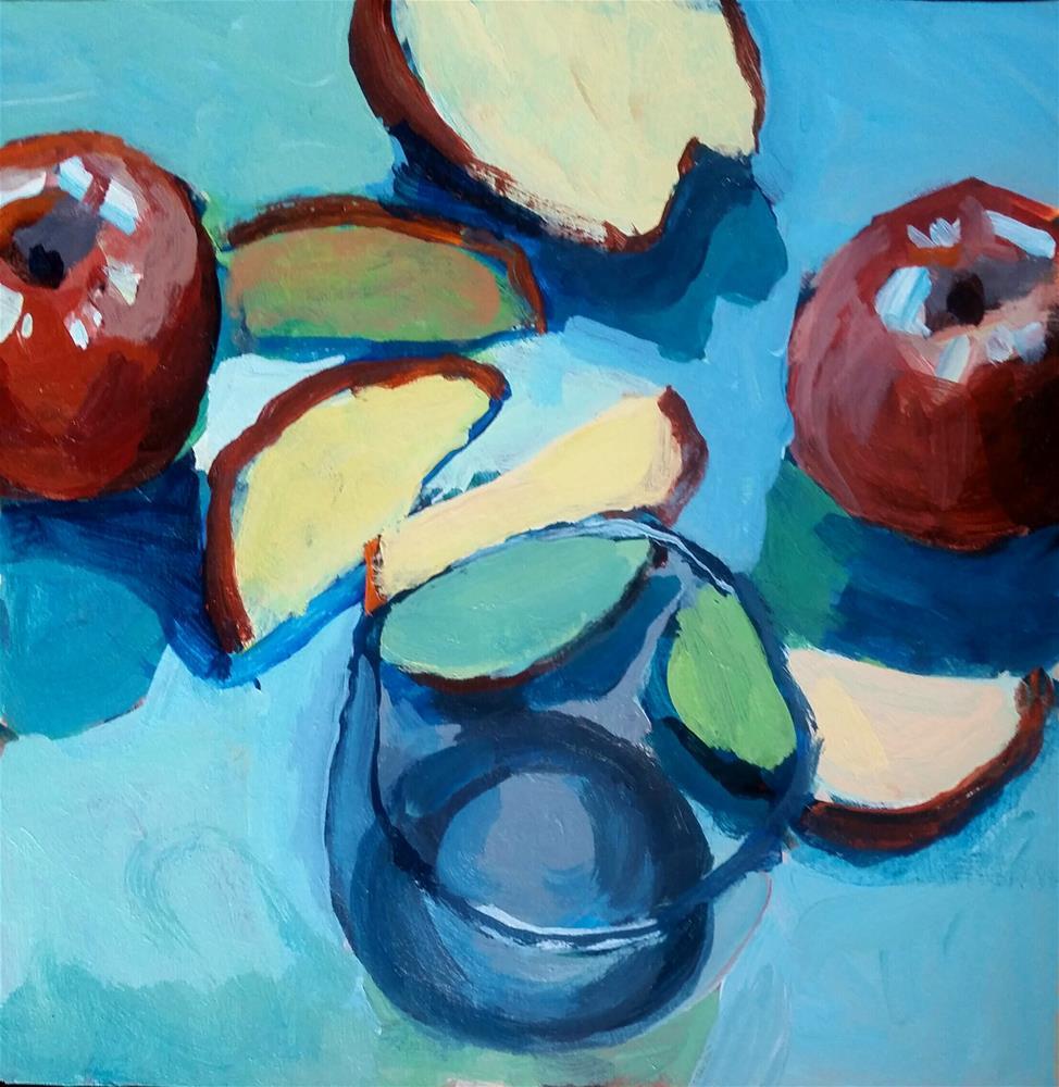 """Fruit Display "" original fine art by Liz Maynes"
