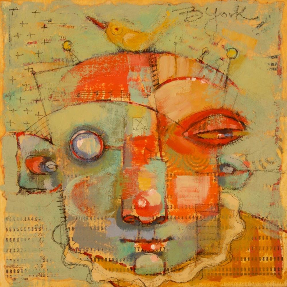 """Tagalong"" original fine art by Brenda York"