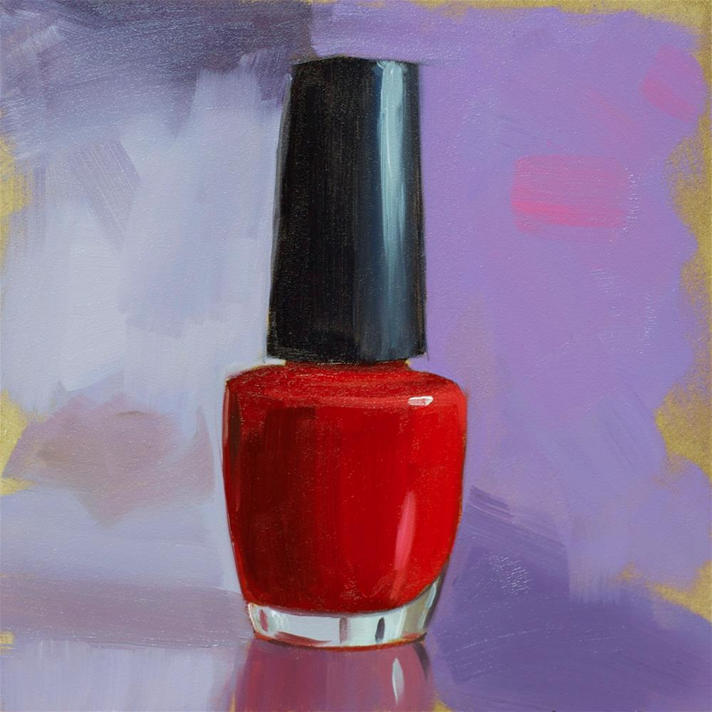 """Classic Red"" original fine art by Heather Bullach"