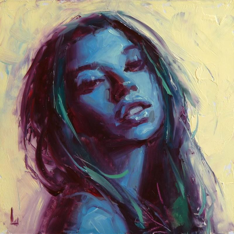 """Blue Anew"" original fine art by John Larriva"
