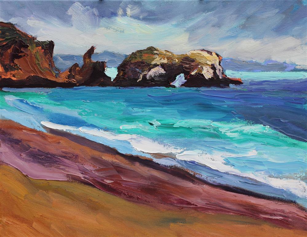 """""""Elephant Rock"""" original fine art by Loralee Chapleau"""