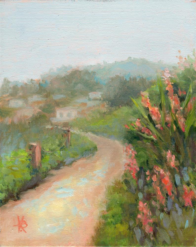 """""""La Jolla Mist"""" original fine art by Kathy Bodamer"""